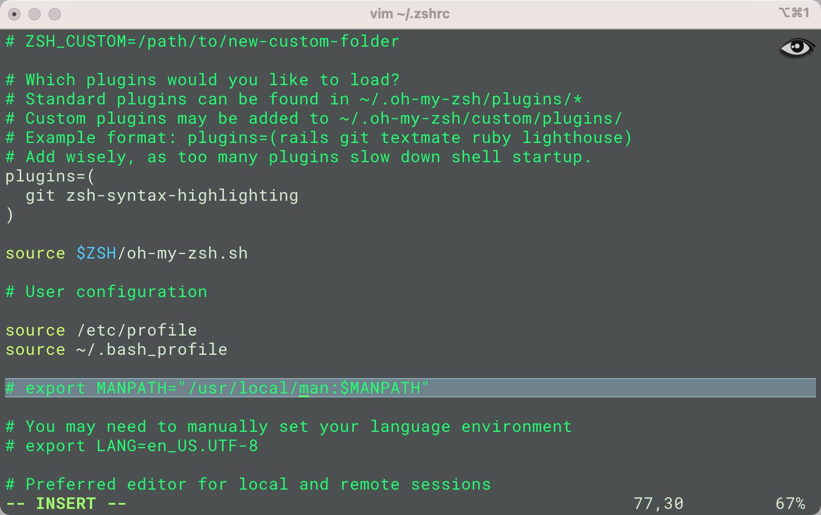 MacOS卸载iTerm2后样式失效,重新用Oh my ZSH Powerline打造个性终端